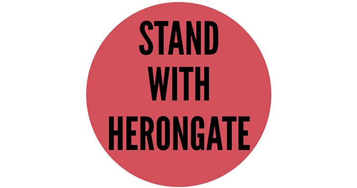 Stand with Herongate