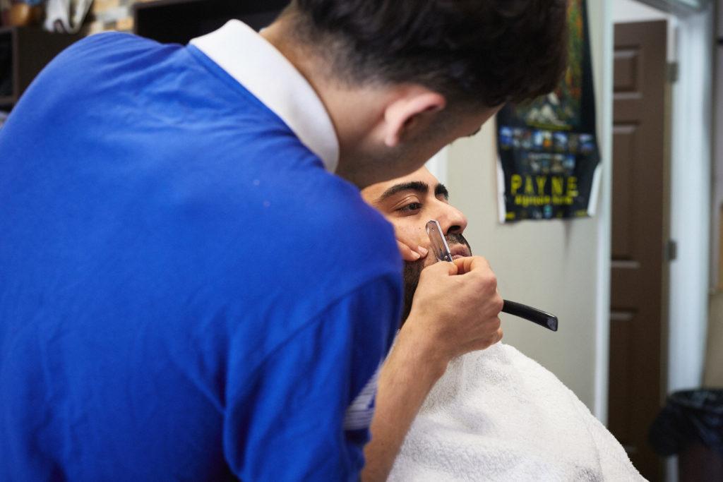 Herongate barber