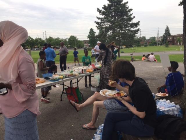 Herongate community potluck